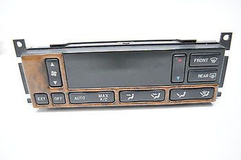 99 00 01 02 LINCOLN CONTINENTAL CLIMATE CONTROL OEM WOODGRAIN