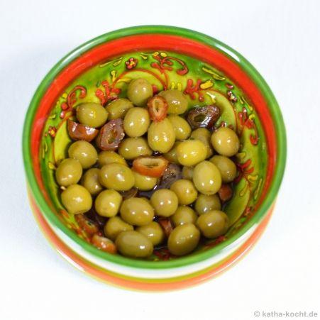 Marinierte Oliven mit Datteln von Katharina