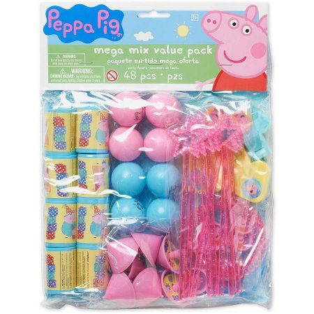 Peppa Pig Party Favor Pack, Value Pack, Party Supplies