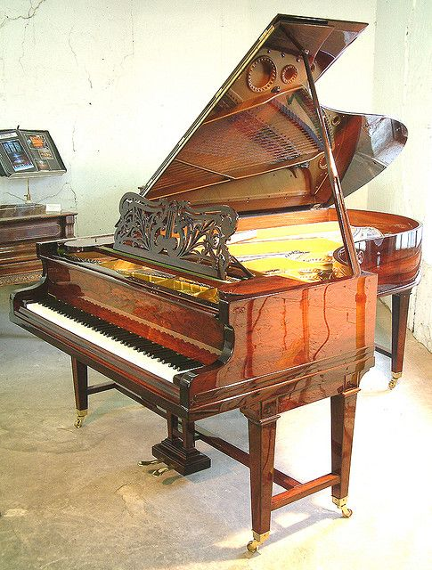 Antique, Rosewood Bechstein Model C Grand  from Besbrode Pianos Leeds by Besbrode Pianos Leeds, via Flickr