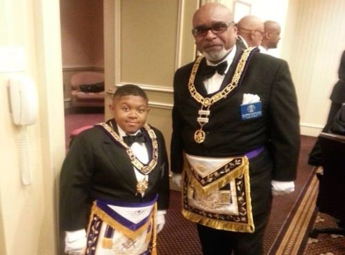 Emmanuel Lewis  -  Prince Hall Masons already knew it for quite a while, but Illustrious Brother Emmanuel Lewis 33°