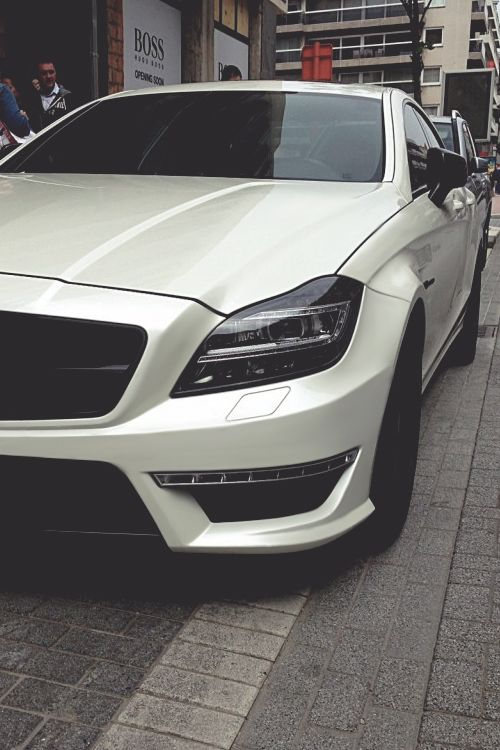 Mercedes CLS 63 AMG... Determined to get this car!!
