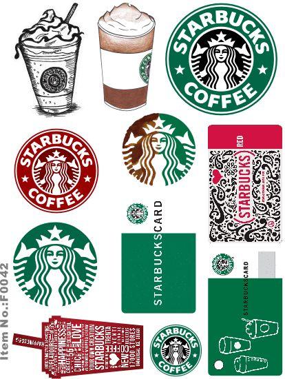 Starbucks Brand Logo Skateboard Snowboard Luggage Car Bike Vinyl Stickers F0042
