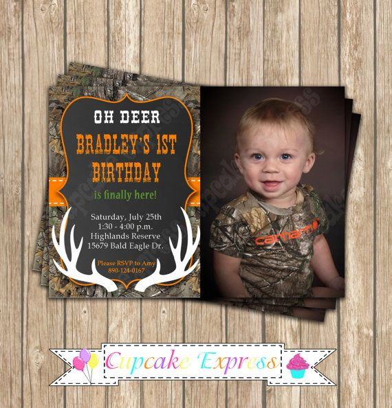 80 best Camo Party Ideas images on Pinterest Camo party Deer