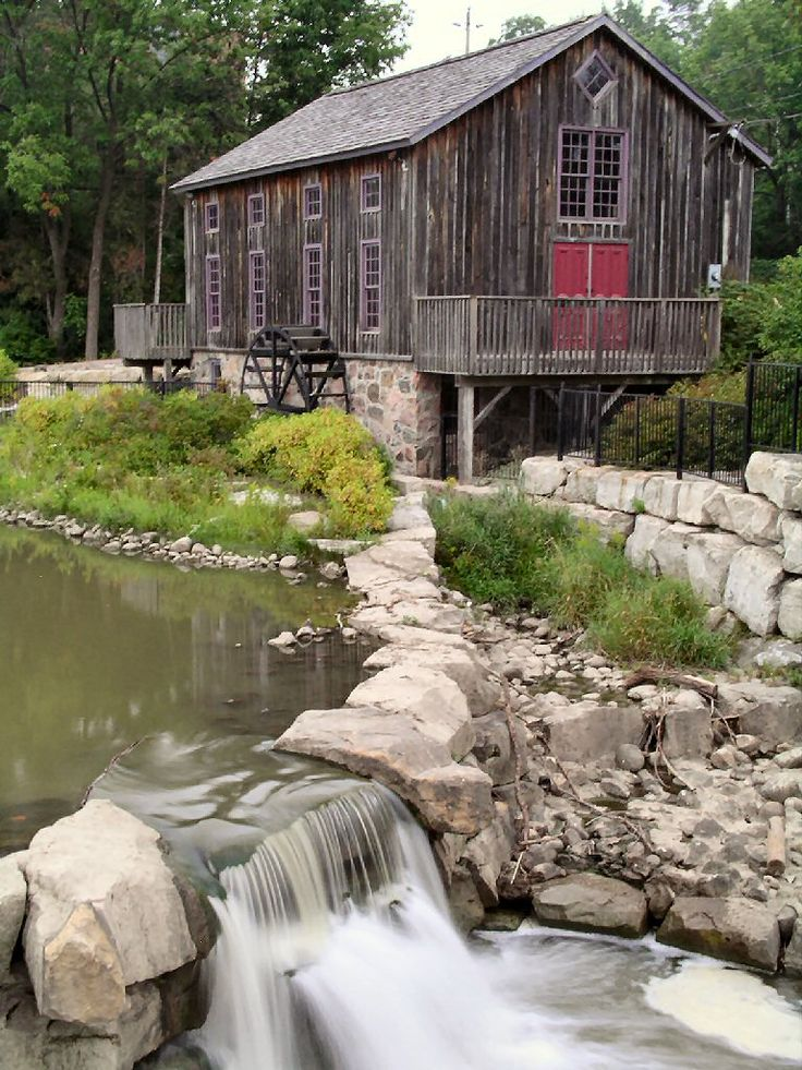 The Old Mill in Waterloo Ontario. #Canada #Canadian #historical #sites #WaterlooRegion