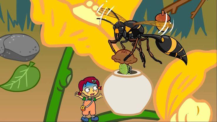 Zoé chez les insectes - Dessin animé éducatif pour enfants