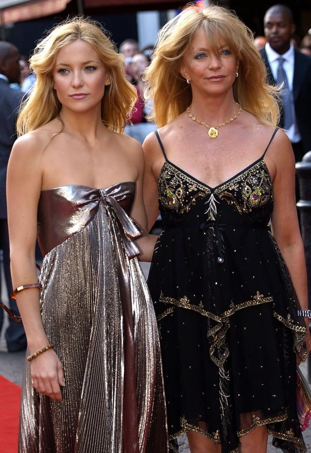 Goldie Hawn and Kate Hudson | 10 Celebrity Moms Whose Kids May Secretly Be Their Twin