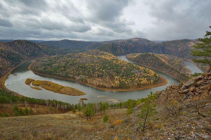 Yenisei River, Russia.