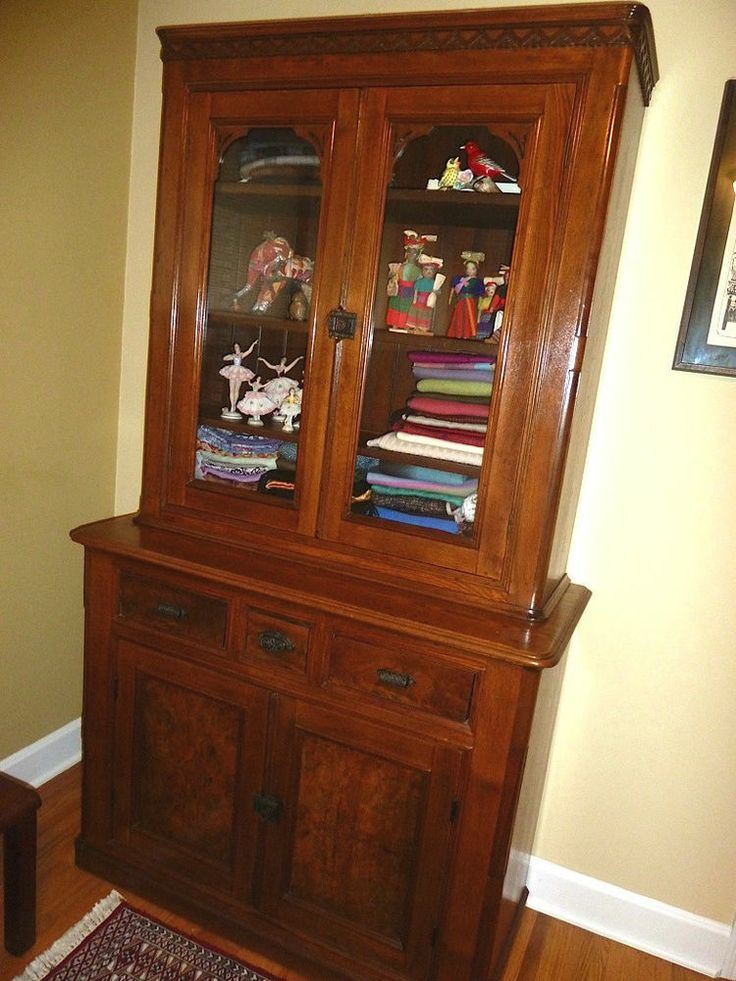 Antique Cabinets With Glass Doors Furniture - Antique Oak China Cabinet With Glass Doors Matasanos.org