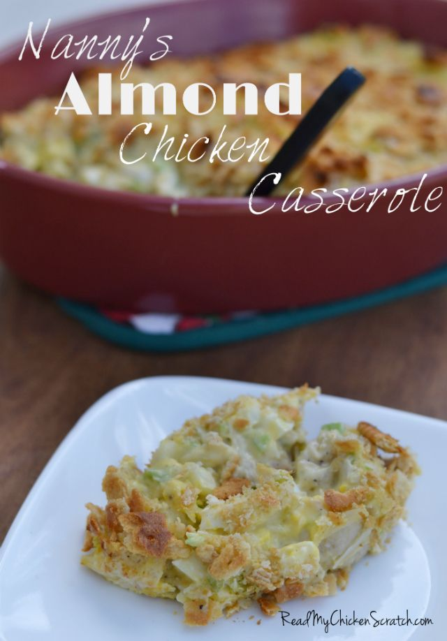 Nanny's Almond Chicken Casserole