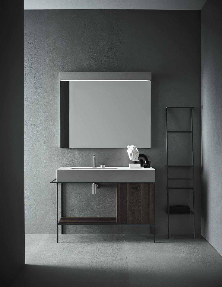 Concrete bathroom | Industrial | Concrete Interior | Interior inspiration | Concrete design | Beton design | Betonlook | www.eurocol.com