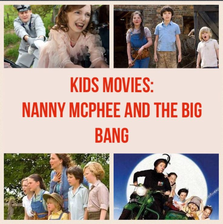 Nanny McPhee & The Big Bang is a suitable movie for younger kids. Set in World War Two with a stellar cast it is entertaining for the whole family.