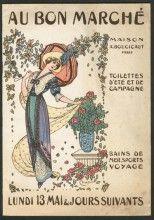 Au Bon Marche (Dept Store), Summer Fashion Catalogue circa 1910s.