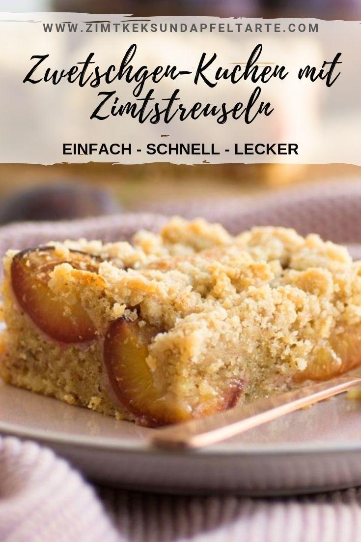 Unglaublich lecker, saftig und duftend: mein Walnuss-Pflaumenkuchen mit Zimt   – Chefkoch ♥ Foodblogger