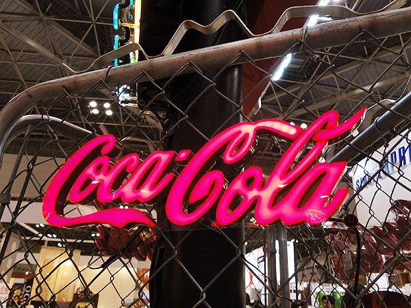 コカ・コーラブランド LEDミニレタリングサイン販売 アメリカ雑貨のテーマパーク!キャンディタワー