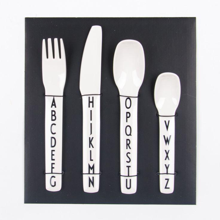 Design Letters Kids Cutlery-Set