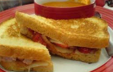 Chicken Melt Sandwich Recipe from Steak and Shake