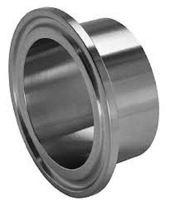 """SANITARY WELD ON FERRULE, 12"""" TRI CLAMP/TRI CLOVER FITTING, STAINLESS STEEL 304"""