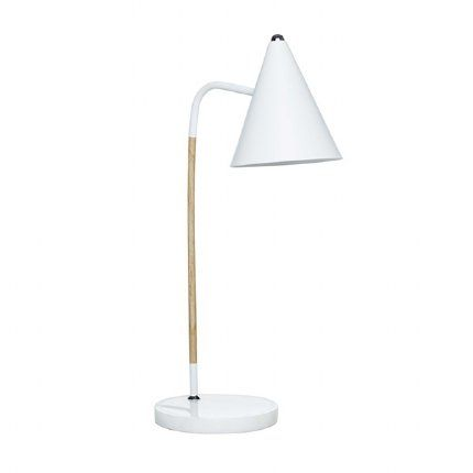 Milk & Sugar Olive Table Lamp - White
