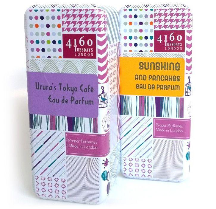4160 Tuesdays, Perfume Tin, Designed by Paper Aeroplane Creative