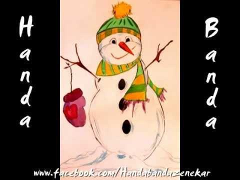 Hull a hó, minden fehér