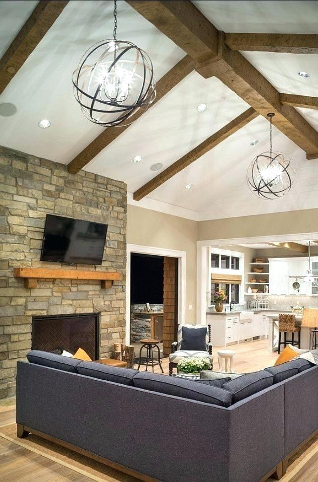Vaulted Ceiling Lighting Fixtures Living Room Lighting Living