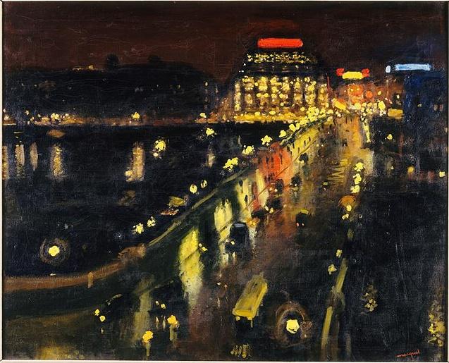Albert Marquet - Le Pont-Neuf la Nuit 1935
