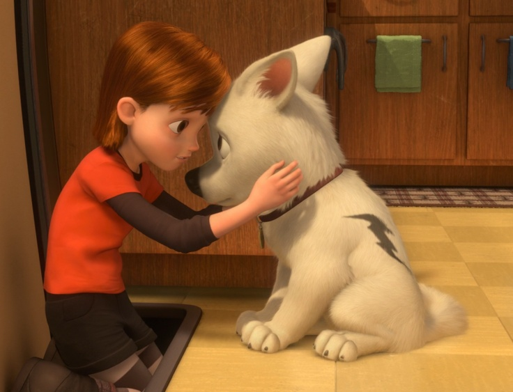 Bolt is the titular star of the 2008 Disney film.