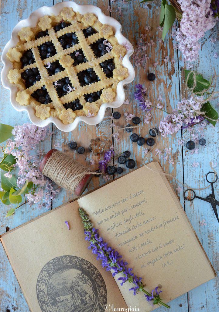 Pie al farro con robiola e mirtilli by Laura Gioia