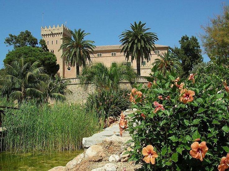 Andratx Castle in Andratx, Mallorca (Spain)