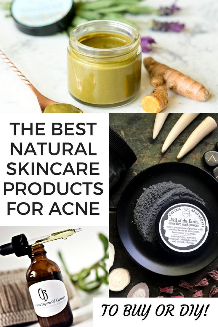 Best Natural Skin Care Products For Acne Prone Skin To Buy Or Diy