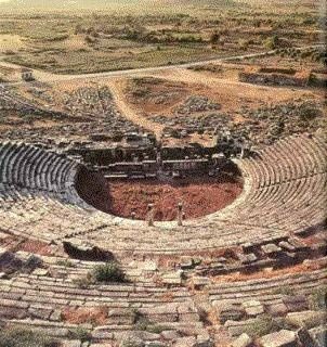 Miletos Amphitheatre-Roman II.-Milet, Soke, Aydin - Civilizations of Turkey - Images - Picture Gallery - Travelers' Stories About Turkey