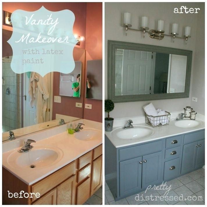 Paint Bathroom Cabinets White Medium Size Of How To Paint Bathroom Vanity Black Cabinets W Painted Vanity Bathroom Bathroom Vanity Makeover Diy Bathroom Vanity