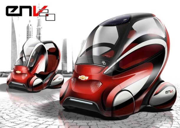 Will this electric pod solve China's traffic woes?: Chevrolet En V, General Motors, 20 Concept, Chevrolet Env, Env 20, Smart Cars, 2 0 Concept, Concept Cars, Electric Cars