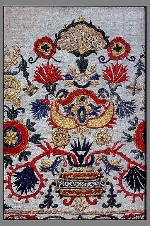Part of a dress border - 18th century - Crete
