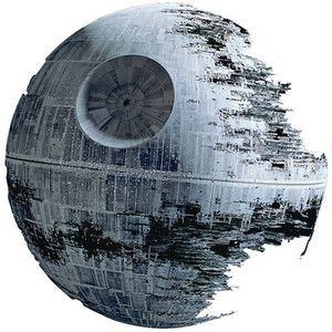 ThinkGeek :: Death Star Wall Cling