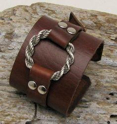 Resultado de imagen para leather bracelet