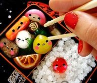 Japanese candy bento