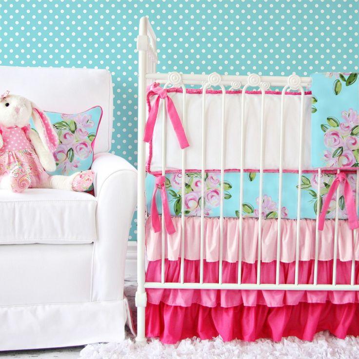 Baby Girl Nursery Bedding Most Popular Colors