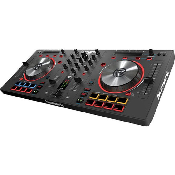 Numark Mixtrack 3 All-In-One Controller Solution For Virtual Dj