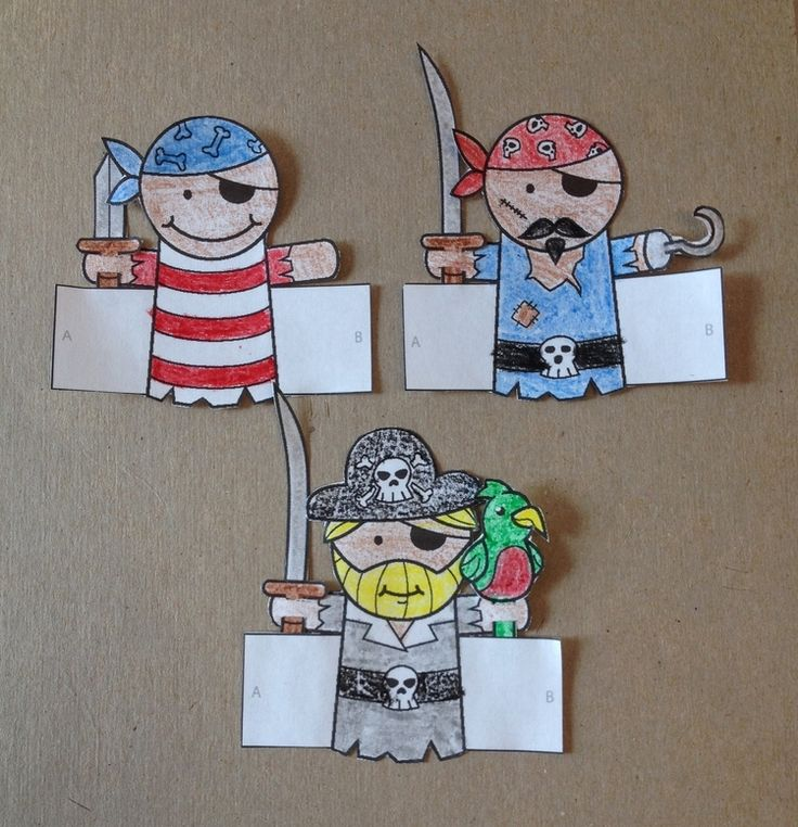 Make Your Own Pirate Finger Puppets — Puppet Showplace Theater