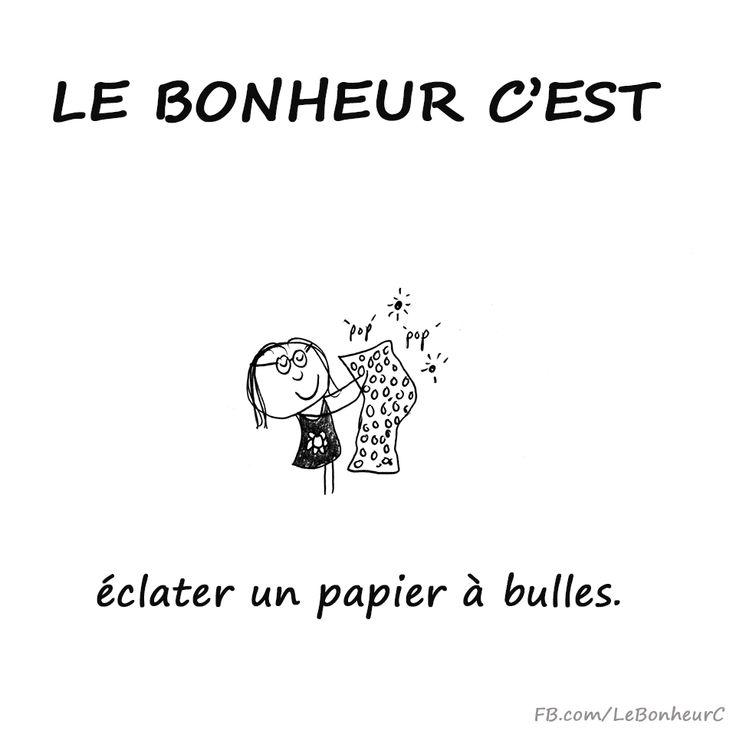 On redevient tous des gosses avec un papier à bulles dans les mains x) ~ français citation ~