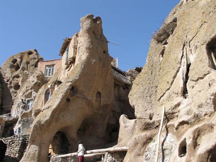 Village de Kandovan, Iran | 27 maisons souterraines à couper le souffle