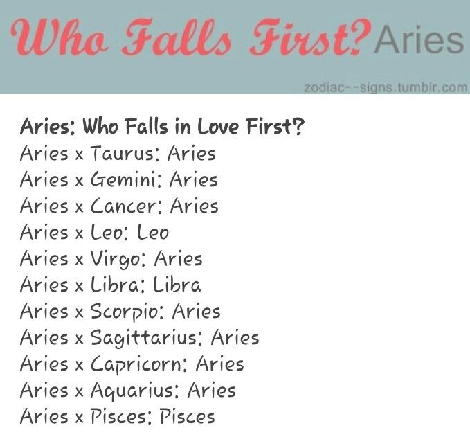 Is Zodiac The Why Sign First Aries