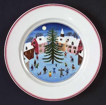 Villeroy boch naif christmas christmas dinnerware for Bosch and villeroy