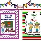 "Two products about ""Cinco de Mayo"" together. One related to reading and writing and the other one about geometry and riddles. See the previews in t..."