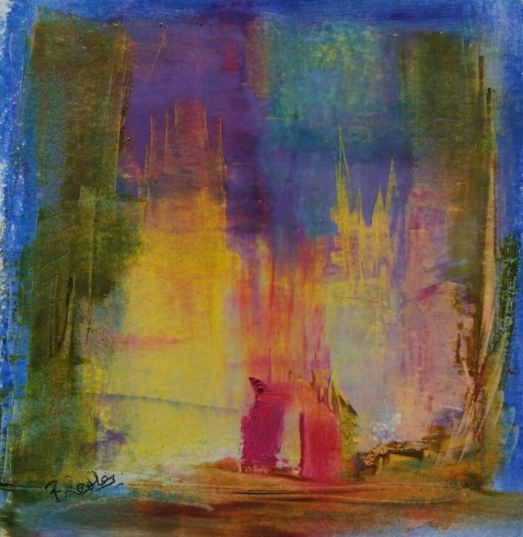 Enjoy Series N 2 Abstract art by Barbara Reale  #abstractart #abstractlandscapepainting  #abstractartist  #colorfieldpainting #contemporaryabstractart  #contemporaryart  #intuitiveart #abstraction  #homedecor #abstractpainting  #abstractsartwork #artwoekonpaper #artonpaper #abstractlandscape  #happyartistmovement  #creativity  #gesturalabstraction #womenartist