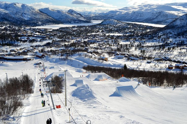 Hovden in Setesdal is one of Norway's best ski resorts.   Photo: Elisabeth Høibo©Visit Southern Norway