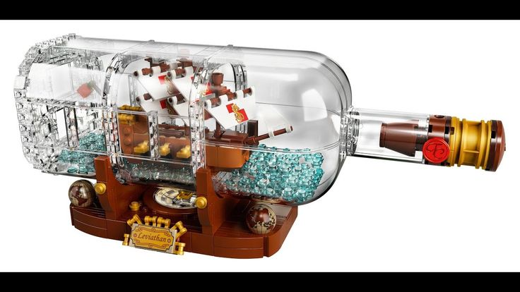 LEGO 21313 LEGO IDEAS Ship in a Bottle Official Pictures