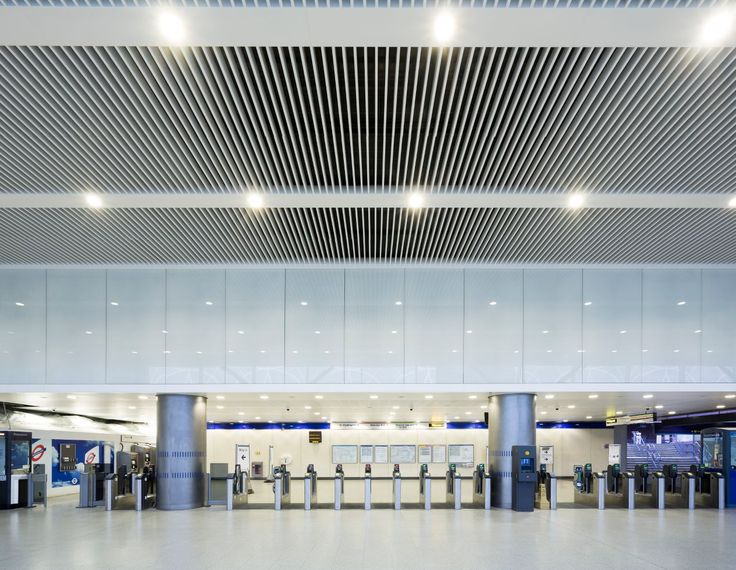 Been through Paddington station recently? Armstrong Ceilings are used in the Paddington Integrated Project  Ceiling Contractor:Carlton Ceilings & Partitions Ltd  Main Contractor:Carillion Construction  Client:Crossrail Head Office  Specifier:Weston Williamson & Partners  V-P 500 with custom bulkheads